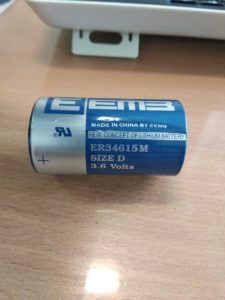 XL-205F-STD Батарея: литиевая, 3,6В, 19Aч